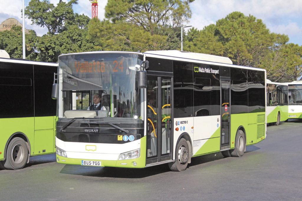 Malta Public Transport bus
