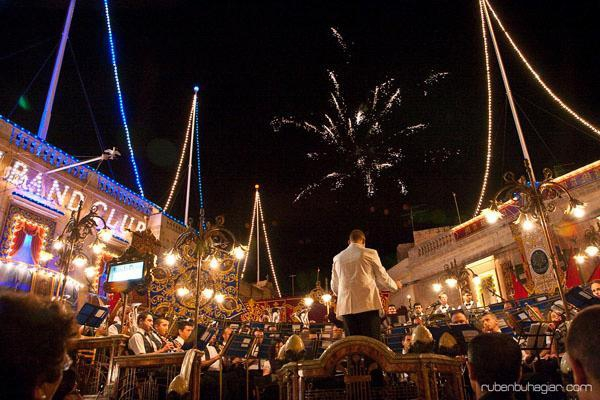 Naxxar boasts of providing one of the best ground fireworks on the island.